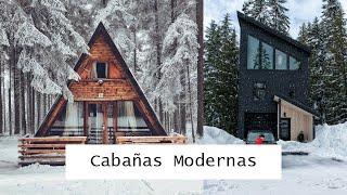 Diseños de CABAÑAS MODERNAS y ELEGANTES   DECORACIÓN DESING