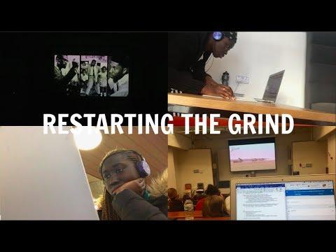 EDINBURGH UNI VLOG #20: RESTARTING THE GRIND   HADDY JENG