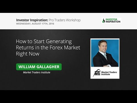 How to Start Generating Returns in the Forex Market Right Now