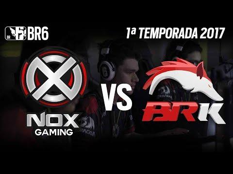 #BR6 - NOX GAMING vs BRK E-SPORTS - Grupo A (Rodada 3)