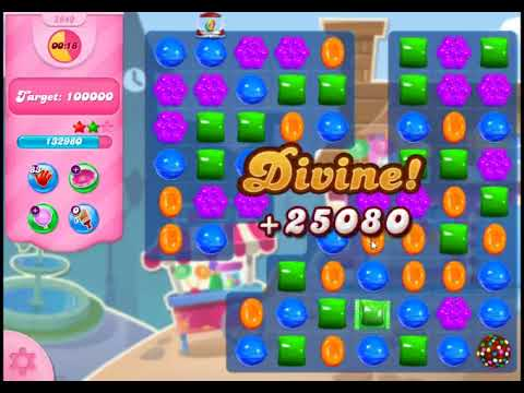 Candy Crush Saga Level 2940 - NO BOOSTERS