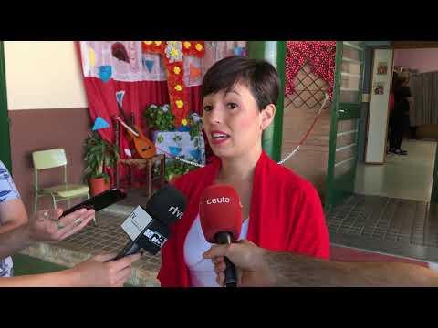María del Carmen Heras vota a las Europeas