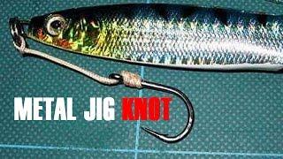 how to make knots on metal jig bait for jigging fishing metal jig mania