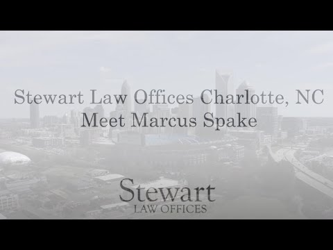 Personal Injury Lawyer & Workers' Comp Marcus Spake - Charlotte, NC - Stewart Law Offices