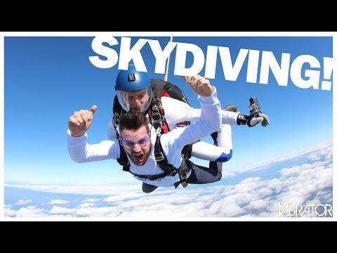Πήδηξα από 14.000 πόδια!!! Skydiving!