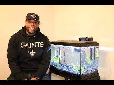 20 Gallon Fish Tank Setup!!!!