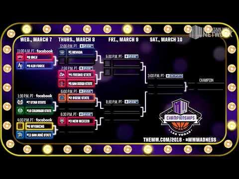 2018 MW Men's Basketball Tournament Bracket Reveal