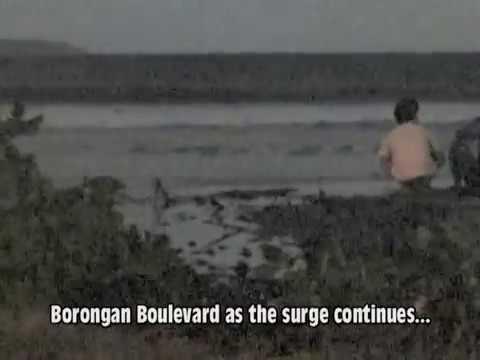 TSUNAMI WATCH IN BORONGAN, EASTERN SAMAR, PHILIPPINES