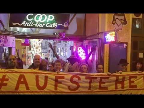 #Aufstehen @ Coop #Antiwar Cafe #Berlin