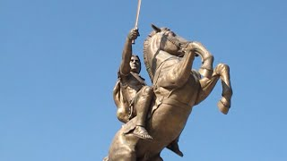 One Of The Largest Statues I Have Seen Skopje Macedonia