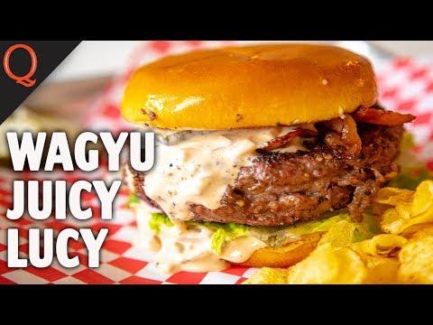 Wagyu Burger   Juicy Lucy
