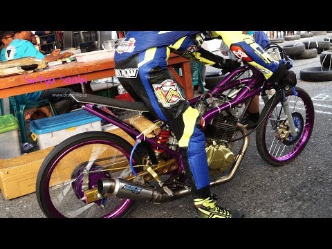 ManTab FFA Herex Tiger 200cc Rangkanya Mirip Ninja Tune Up Drag Bike Higam Ponorogo