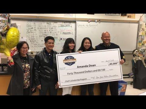Yerba Buena senior awarded inaugural SJPD college scholarship