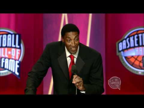 Scottie Pippen's Basketball Hall of Fame Enshrinement Speech