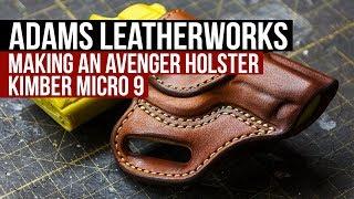 Making an Avenger Style Holster, Kimber Micro 9