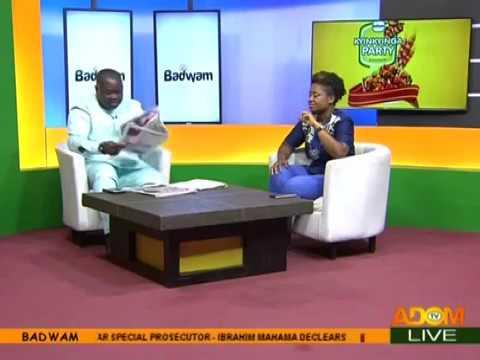 Badwam Newspaper Review on Adom TV (19-4-18)