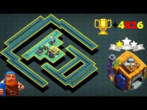 COC Best!! New BH7 Base 2019 With Replays | Builder Hall 7 Anti 2&3 Star Trophy Base |AntiALL Troops