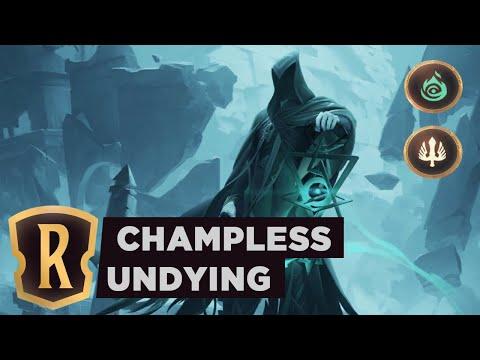 Championless UNDYING | Legends Of Runeterra Deck