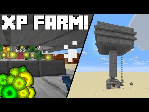 Minecraft Tutorial - Mob And XP Grinder/Farm (Java Edition 1.14/1.15)