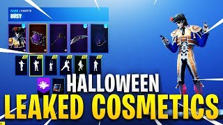 *NEW* Leaked Fortnite Skins & Emotes..!! *SPOOKY* (Male Ghoul Trooper/Cowboy)