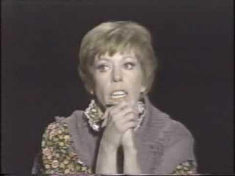 """A Special Evening With Carol Burnett"" -- Closing"