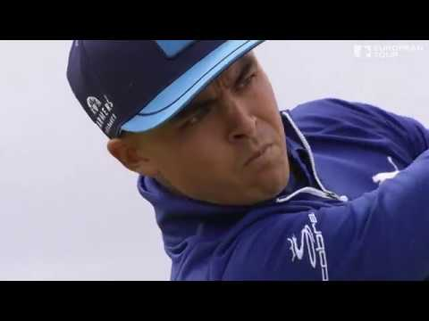 Rickie Fowler for the Aberdeen Asset Management Scottish Open