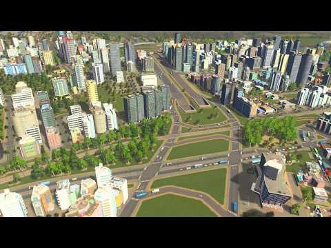 Cities: Skylines - Mass Transit - Moscow (улица Народного Ополчения vs улица Берзарина)