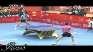 2012 China Super League: ZHOU Yu - ZHANG Jike [Full Match/Short Form]