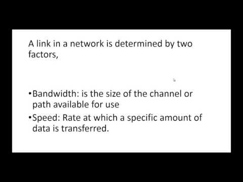 Difference Between Bandwidth and Speed