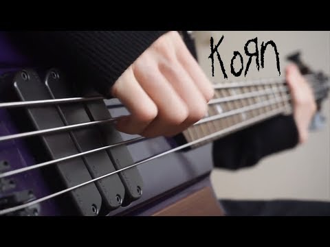 KoRn - Black Is the Soul | Bass Cover