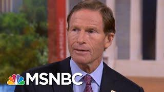 Sen. Richard Blumenthal: Donald Trump's Playing From Vladimir Putin's Playbook | Hardball | MSNBC