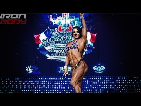 2019 Romania Muscle Fest Pro & Valentina Mishina Posing WOMEN'S PHYSIQUE