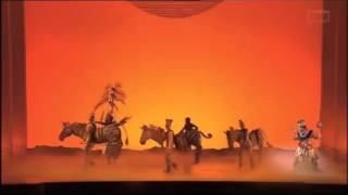 The Lion King Circle of Life Helpmann Awards