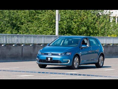 2015 VW e-Golf - Review & Test Drive