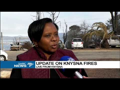 Nearly 600 firefighters, volunteers deployed to battle Knysna fires