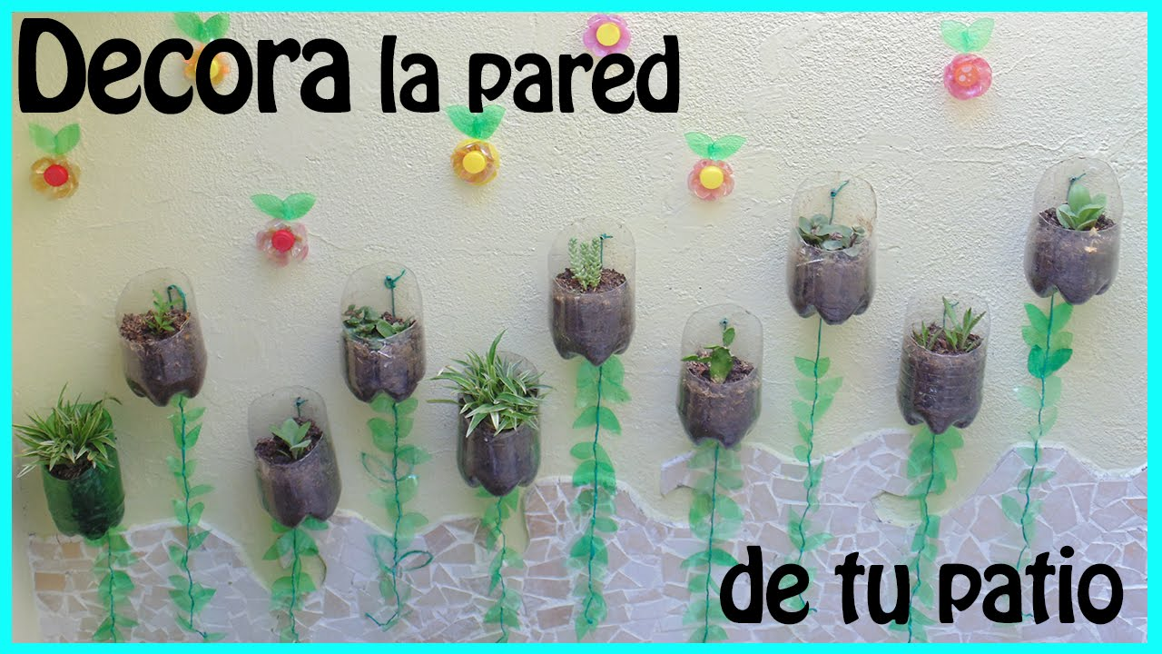 Decora la pared de tu patio henny youtube for Decoracion de la pared para el exterior