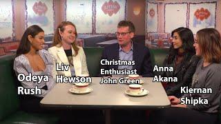 Letting It Snow with Kiernan Shipka, Shameik Moore, Anna Akana, and Blogbrother John Green