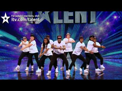 Dance troupe United We Stand - Britains Got Talent 2012 audition - UK version