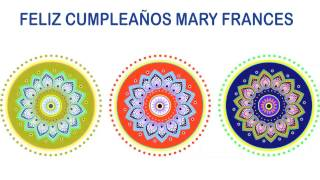 MaryFrances   Indian Designs - Happy Birthday