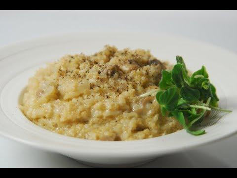 Mushroom Quinoa Rissotto   Cooksmart   Sanjeev Kapoor Khazana
