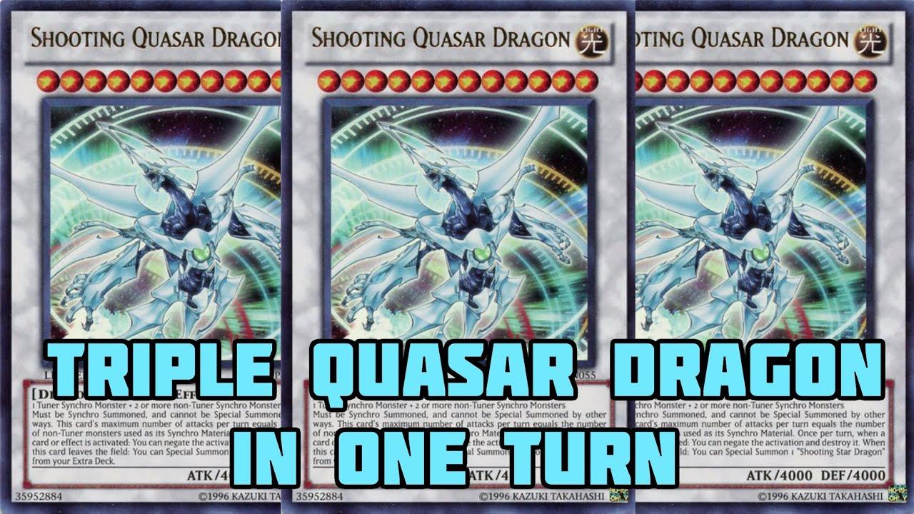 Quasar Schnuppen Drache Deck