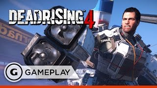 10 Minutes of Coop Multiplayer Gameplay - Dead Rising 4