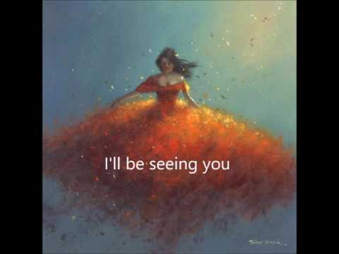 I'll Be Seeing You - Karaoke solo piano Bb with lyrics