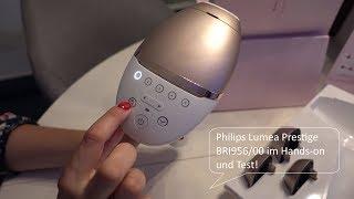 Philips Lumea Prestige BRI956/00 IPL Modell 2018 - Hands on Test (German)