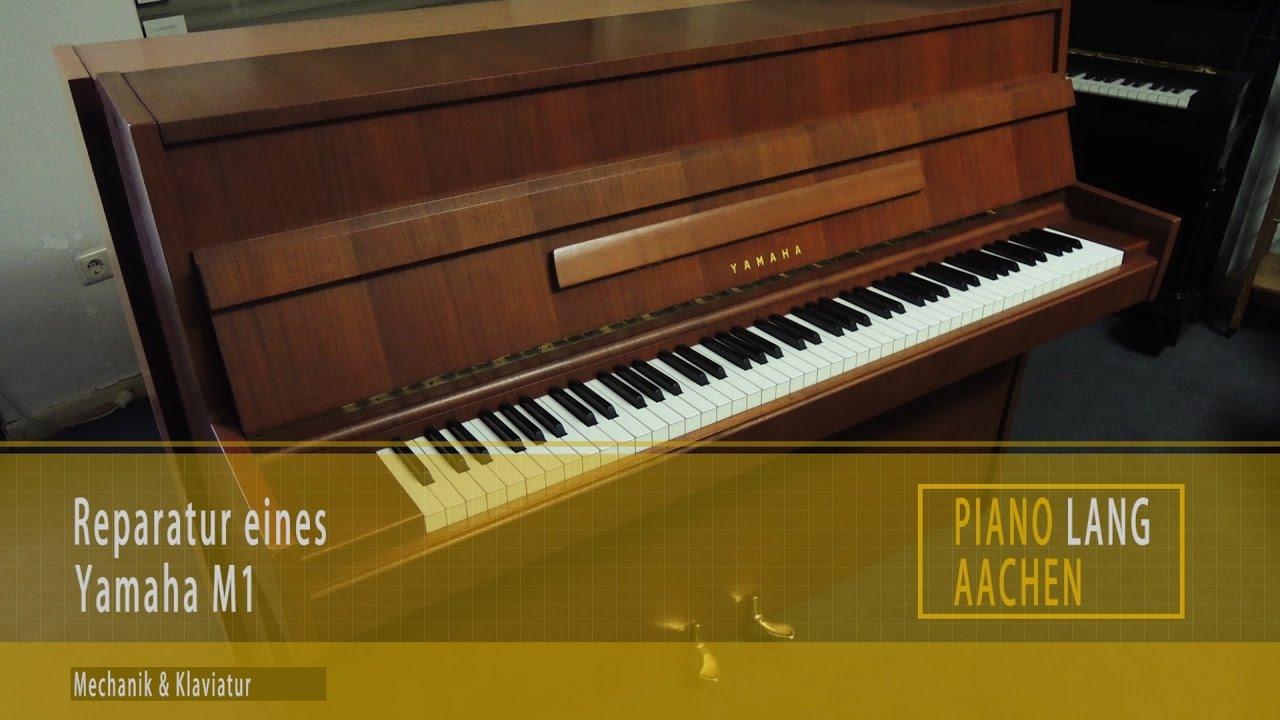 Yamaha m1 reparatur mechanik klaviatur youtube for Yamaha m1 piano