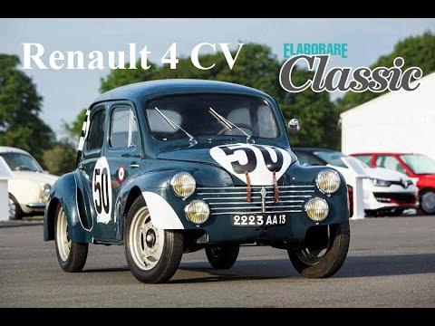 Renault 4 CV  [1951] | Renault Classic | Test Racing