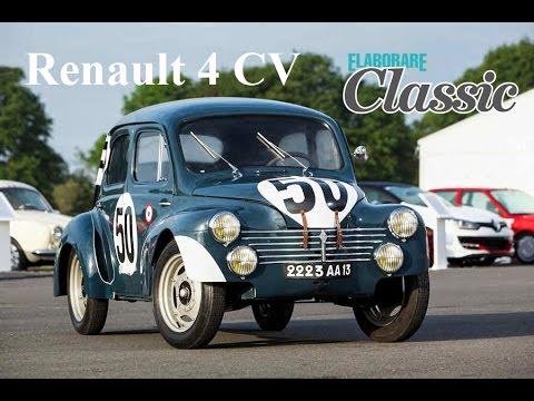 renault 4 cv 1951 renault classic test racing youtube. Black Bedroom Furniture Sets. Home Design Ideas