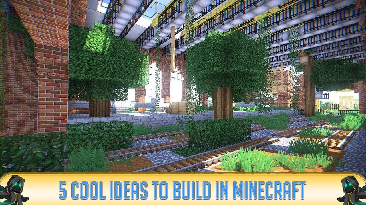 Minecraft 5 Cool Things You Should Build In Minecraft