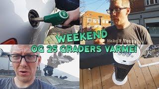 19 21 april arbejde og weekend vlog