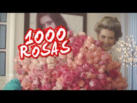 Noiva recebe buquê com 1000 rosas do noivo apaixonado Emocionante 💐